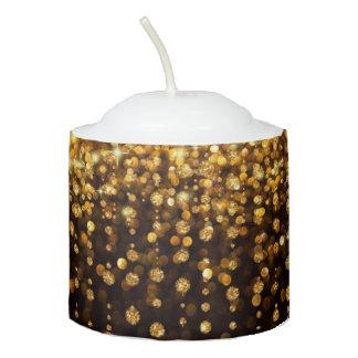 gliter votive candle