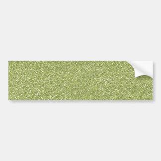 glitter1 SANDY NEUTRAL  MINT SEAFOAM LIGHT GREEN B Car Bumper Sticker