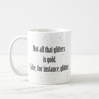GLITTER 1 COFFEE MUGS