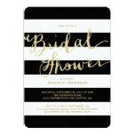 "Glitter and Glam | Bridal Shower Invitation 5"" X 7"" Invitation Card"