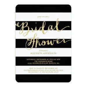 Glitter and Glam | Bridal Shower Invitation