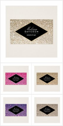 Glitter and Glamour Brand Suite