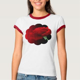 Glitter and Scalloped Rose Shirt