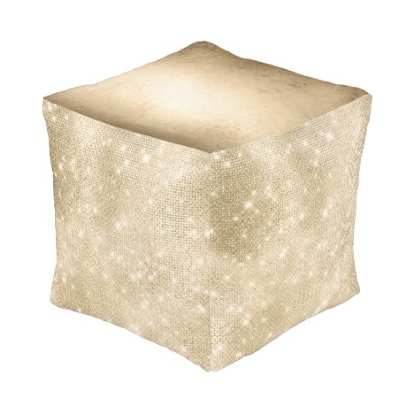 Glitter and Shine Gold ID673 Pouf