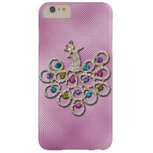 glitter and shine peacock barely there iPhone 6 plus case