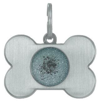 Glitter Ape Pet ID Tag