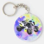 Glitter ATV Keychain