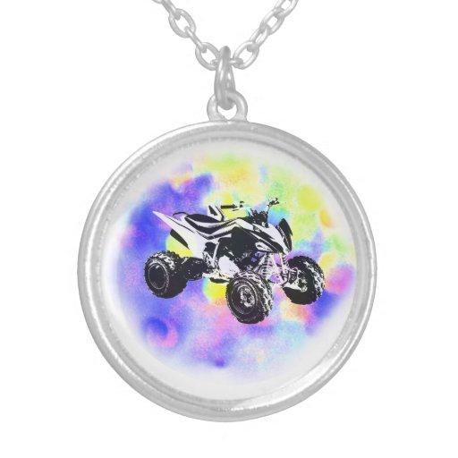Glitter ATV Necklace