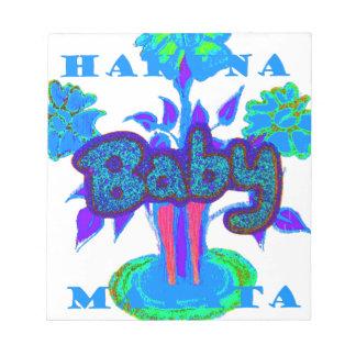 Glitter Baby  Hakuna Matata gifts.png Notepad