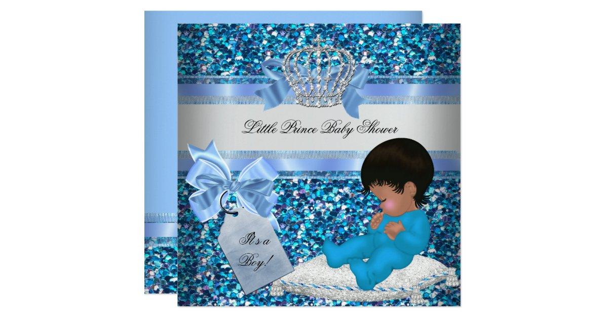 Little Prince Baby Shower Invitations & Announcements | Zazzle