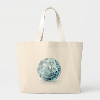 Glitter Ball Large Tote Bag