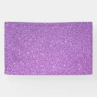 Glitter Banner
