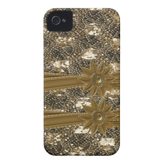 Glitter,Beads,Robbons & Bows IPHONE 4 CASE