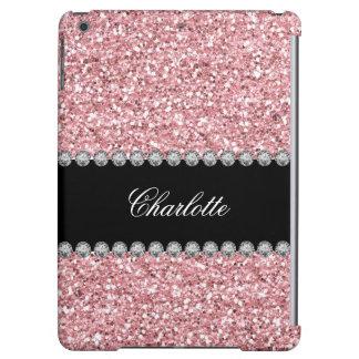 Glitter Bling Monogram Case For iPad Air