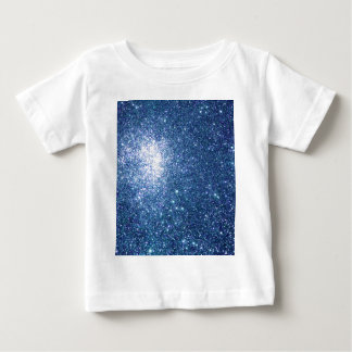Glitter Blue Starfield Tee Shirt