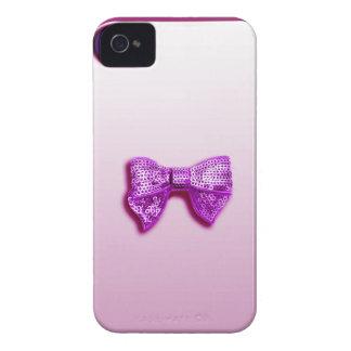 Glitter Bow iPhone 4 Case-Mate Case