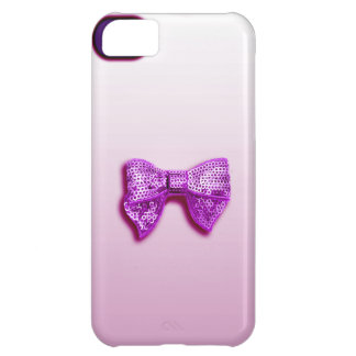 Glitter Bow iPhone 5C Cover