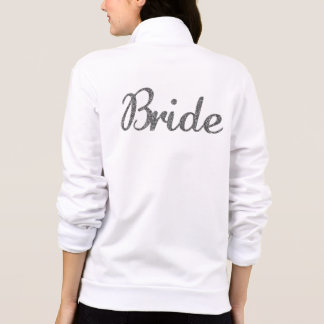 Glitter Bride Silver Jackets