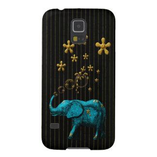 Glitter Bubble Elephant Galaxy S5 Cover