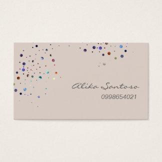 Glitter Business Card
