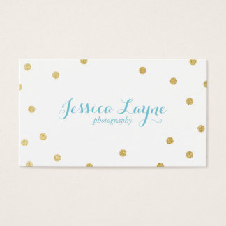 Glitter Business Cards