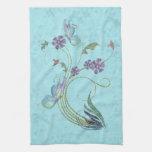 Glitter Butterflies Towels