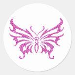 Glitter Butterfly Sticker