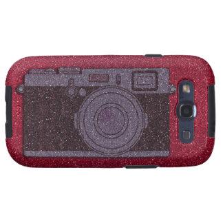 Glitter Camera Galaxy S3 Case