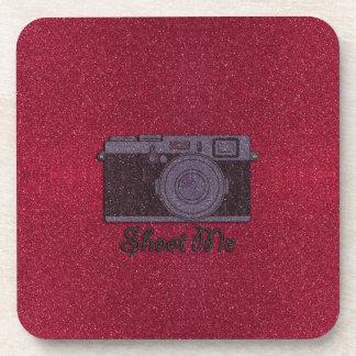 Glitter Camera Coaster