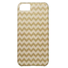 Glitter Chevron iPhone 5C Cases