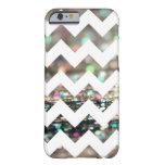 Glitter Chevron Pattern iPhone 6 case