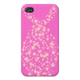 Glitter Christian Fish Symbol iPhone 4 Cases