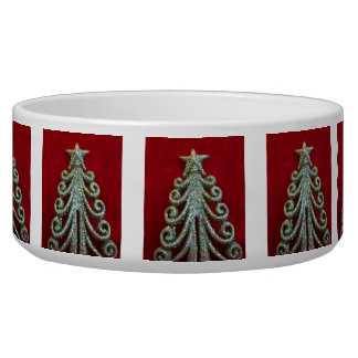 Glitter Christmas tree Bowl