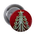 Glitter Christmas tree Pins