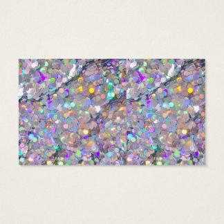 Glitter Confetti Sparkles Business Card