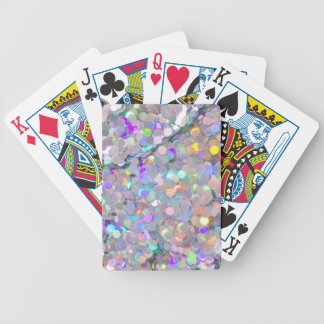 Glitter Confetti Sparkles Bicycle Poker Cards