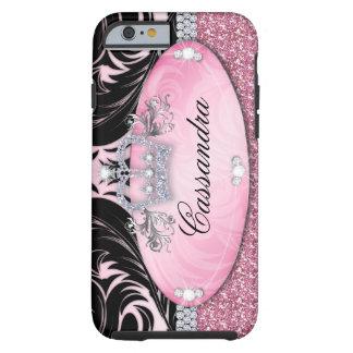 Glitter Crown iPhone 6 Tough Jewelry Tough iPhone 6 Case