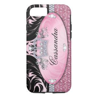Glitter Crown iPhone 7 Tough Jewelry iPhone 8/7 Case