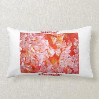 Glitter Crystals collection lumbar pillow