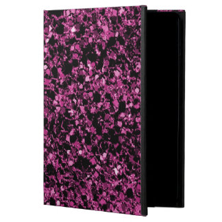 Glitter dark pink iPad air case