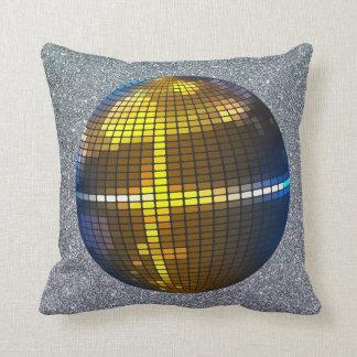 Glitter disco ball cool hip decor pillow