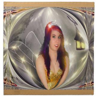Glitter Fairy Cloth Napkin