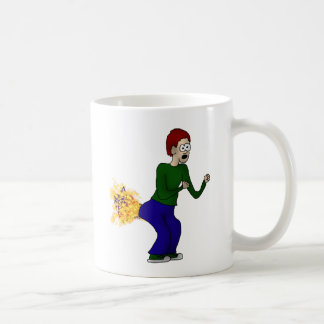 Glitter Farter Classic White Coffee Mug