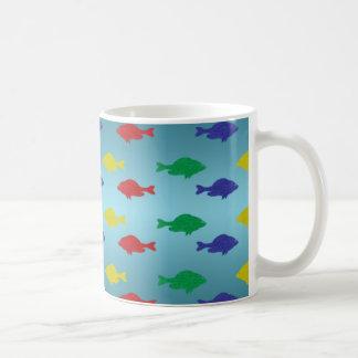 Glitter Fish Pattern Mug