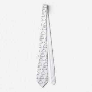 Glitter Food Dish Neck Tie