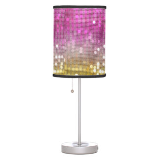 """Glitter Freak"" Table Lamp"