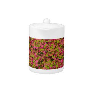 Glitter Garden TEAPOT