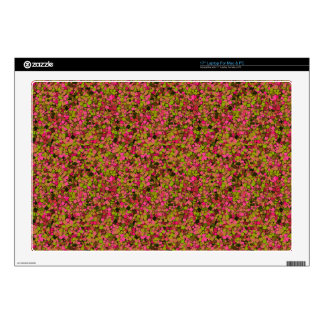 Glitter Garden Vinyl Laptop Skin