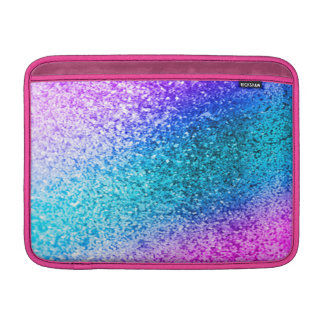 glitter,glam,pink,turquoise,metallic,trendy,girly, sleeves for MacBook air