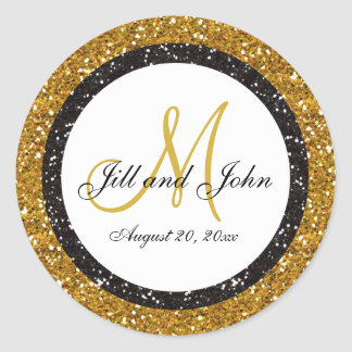 Gold Glitter Stickers Zazzle - Custom glitter stickers